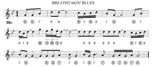 Harmonica blues harmonica tabs in c : ON THE TRAIL OF RHYTHM WILLIE