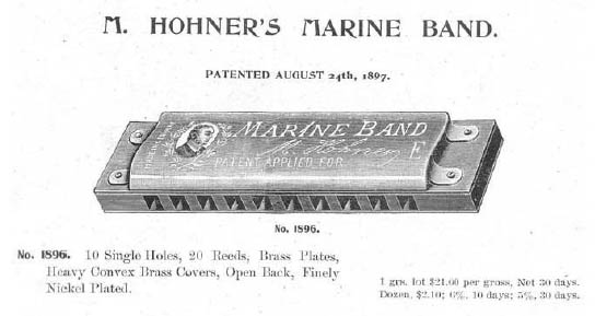 How has the Hohner Marine Band changed over the years?