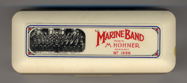 how to clean a marine band harmonica